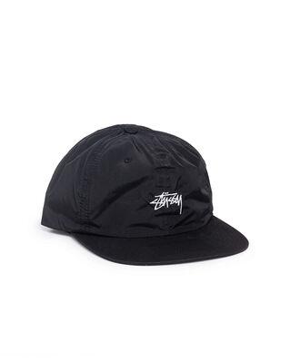 Stüssy Stussy Nylon Strapback Cap Black