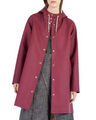 Stutterheim Mosebacke raincoat burgundy
