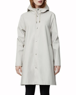 Stutterheim Mosebacke raincoat light sand