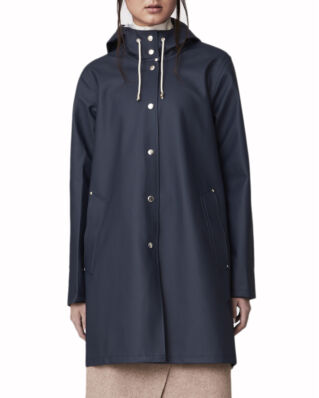 Stutterheim Mosebacke raincoat navy