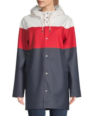 Stutterheim Stockholm Stripe White/Red/Navy
