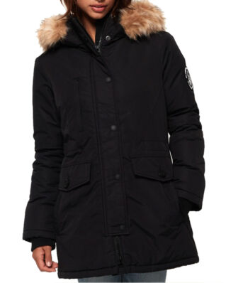 Superdry Ashley Everest Parka Black