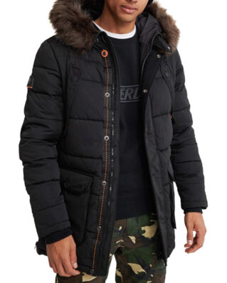 Superdry Chinook Parka Jet Black