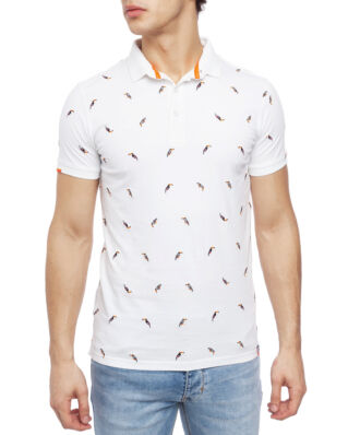 Superdry City State Embroidery Polo Toucan Optic