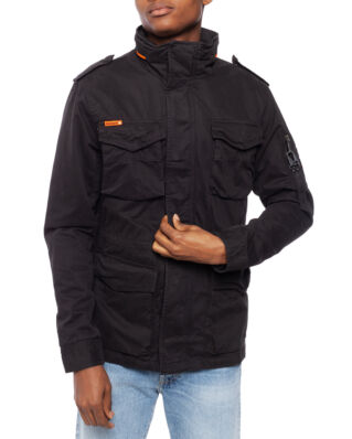 Superdry Classic Rookie 4 Pocket Jacket Furnace Black