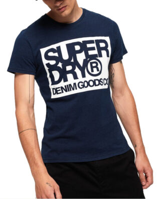 Superdry Denim Goods Co Tee True Indigo
