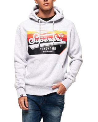 Superdry Embossed Classic Hood Ice Marl