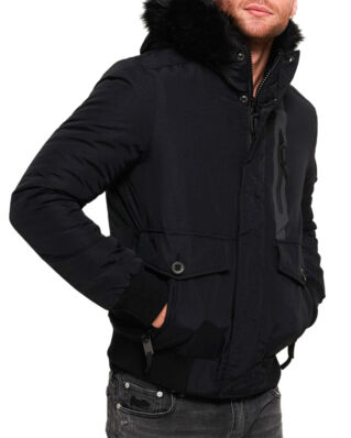 Superdry Everest Bomber Jet Black