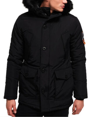 Superdry Everest Parka Jet Black