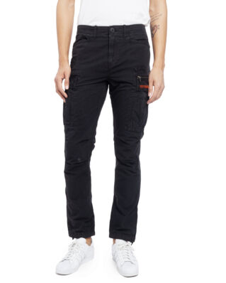 Superdry Parachute Cargo Pant Washed Black