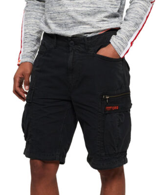 Superdry Parachute Cargo Short Washed Black
