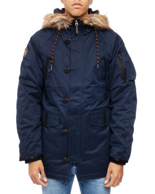 Superdry Sdx Parka Deep Navy