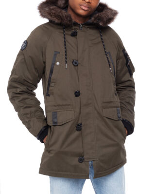 Superdry Sdx Parka Surplus Goods Olive