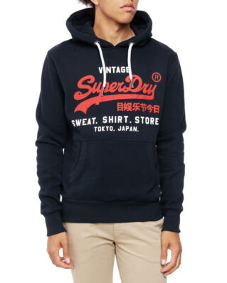 Superdry Sweat Shirt Shop Duo Hood Eclipse Navy
