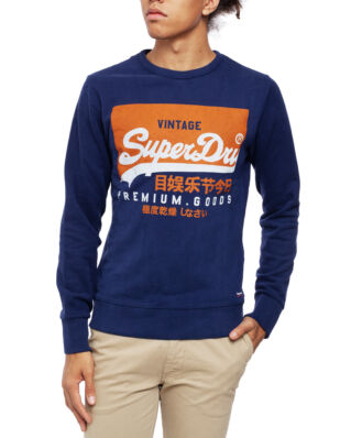 Superdry Vintage Logo Crew Patriot Navy