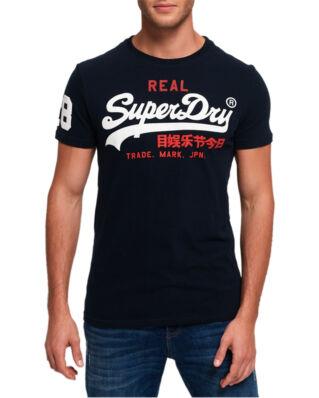 Superdry Vintage Logo Tri Tee Eclipse Navy
