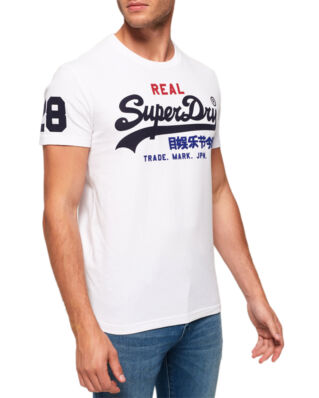 Superdry Vintage Logo Tri Tee Optic