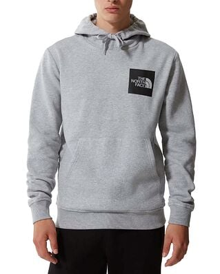 The North Face Fine Hoodie Tnf Light Grey Heather