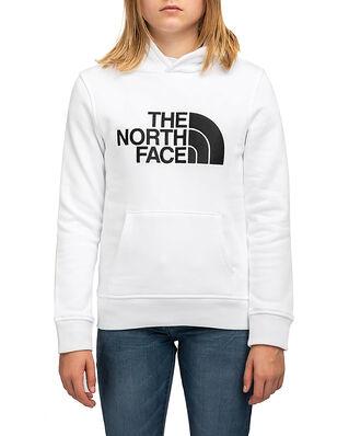 The North Face Junior Drew Peak P/O Hoodie White