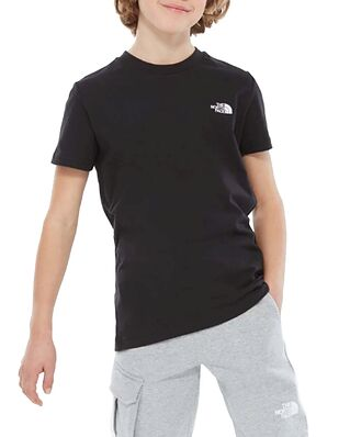 The North Face Junior S/S Simple Dome Tee Black