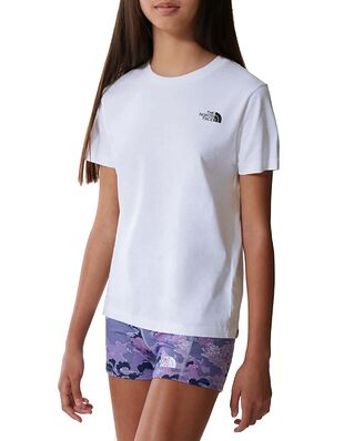 The North Face Junior S/S Simple Dome Tee White