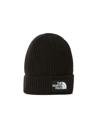 The North Face Logo Box Beanie Black