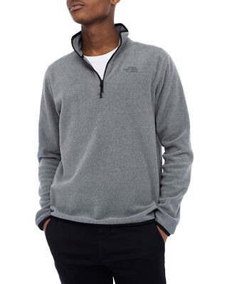 The North Face M 100 Glacier 1/4 Zip Grey Heather