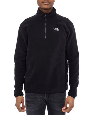The North Face M 100 Glacier 1/4 Zip Tnf Black