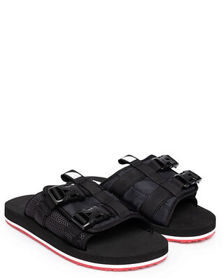 The North Face M EQBC Slide Tnf Black/Fiery Red