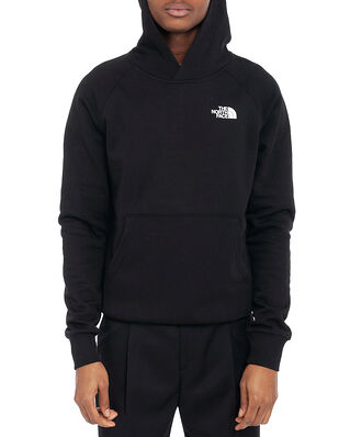 The North Face M Raglan Red Box Hd Tnf Black