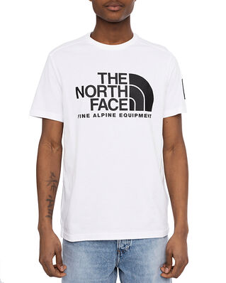 The North Face M S/S Fine Alpine Tee 2 Tnf White