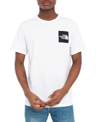 The North Face M S/S Fine Tee Tnf White/Tnf Black