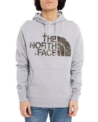 The North Face M Standard Hoodie Light Grey/Camo