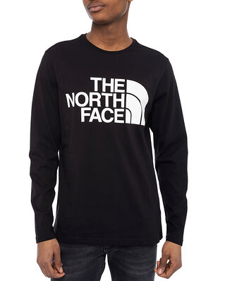 The North Face M Standard Ls Tee  Tnf Black