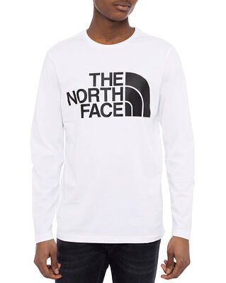 The North Face M Standard LS Tee Tnf White