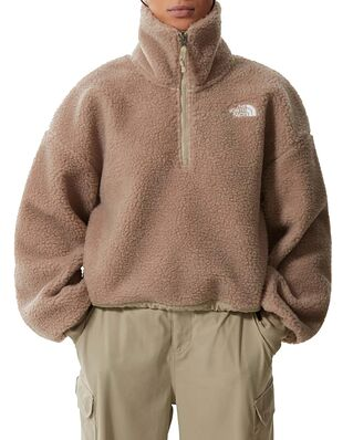 The North Face Platte Sherpa  1/4 Zip Flax