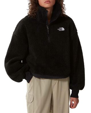 The North Face Platte Sherpa  1/4 Zip Black