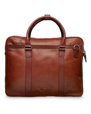 Tiger of Sweden Marquet briefcase medium brown