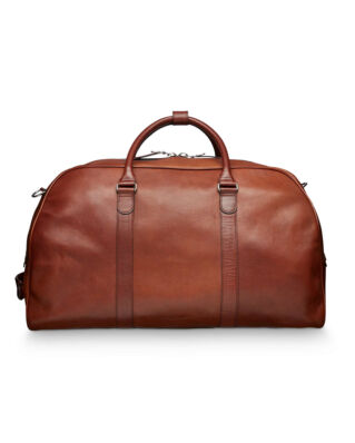 Tiger of Sweden Pinchon Weekend Bag Brown