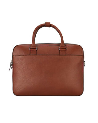 Tiger of Sweden Burin Briefcase Cognac
