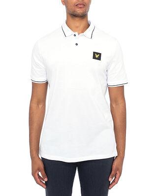 Lyle & Scott Tipped Polo Shirt White