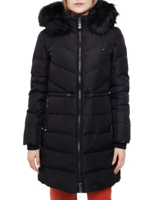 Tommy Hilfiger Alana Padded Coat Meteorite