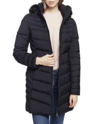 Tommy Hilfiger April Str Down Coat Black Beauty