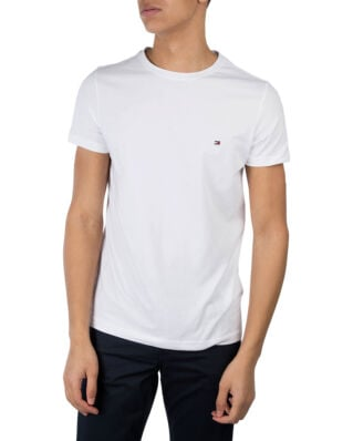 Tommy Hilfiger Core Stretch Slim C-Neck Tee Bright White