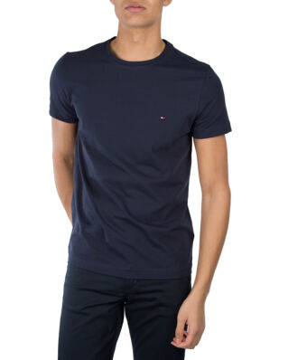 Tommy Hilfiger Core Stretch Slim C-Neck Tee Navy Blazer