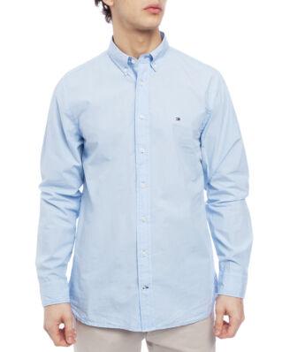 Tommy Hilfiger Garmant Dyed Poplin Shirt Chambray Blue