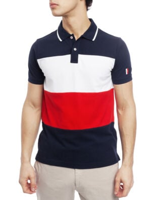 Tommy Hilfiger Icon Colorblock Slim Polo Sky Captain / Multi