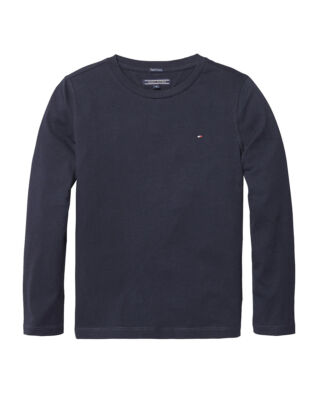 Tommy Hilfiger Junior Boys Basic Cn Knit L/S Sky Captain