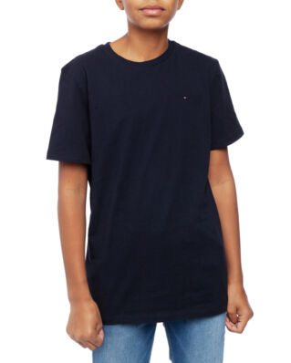 Tommy Hilfiger Junior Boys Basic Cn Knit S/S Sky Captain