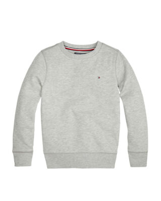 Tommy Hilfiger Junior Boys Basic Sweatshirt Grey Heather